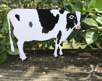 Chick-fil-A cow craft | Set of 12 | Custom text printed on back side