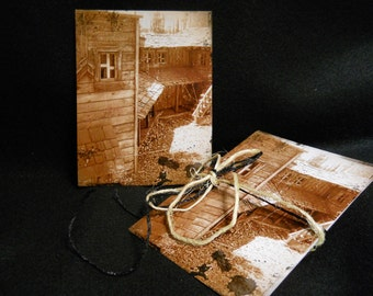 Set of 6 Postcards - Homestead Lost In Time - Fine Art Photography - Standard Size