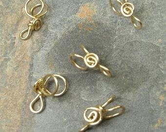 Handmade Brass Pendant Bails, PurpleLily Designs, SRA