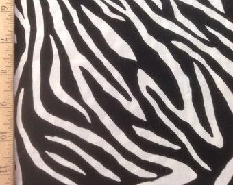Timeless Treasures     Zebra    #Lily-C6215