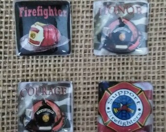 Firefighter Magnets - Honor Magnets - Support Your Firefighter