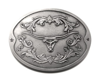 The BevBuckle for your belt! Holds your bottle or can! (LONGHORN)