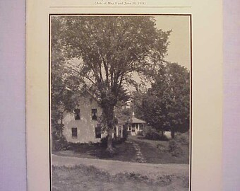 1937 Beautifying the Home Grounds University of Vermont and State Agricultural College Burlington, VT. Circular 93, Farming Booklet