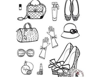 SCR2 Board on the fashion of 12 rubber stamps