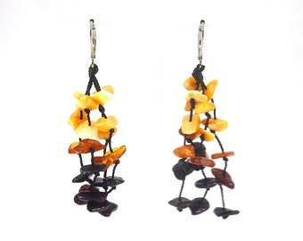 Genuine Amber Earrings Several Colors Multiple Pieces 5 g