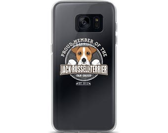 Proud Member of the Jack Russell Terrier Fan Group Dog Rescue Donation Samsung Case