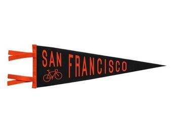 Felt Pennant - San Francisco