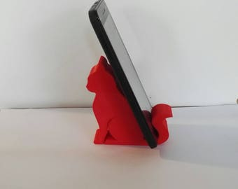 Cat iPhone stand