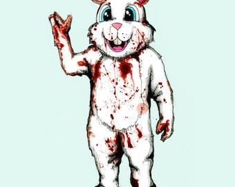 Bad Bunny 2 Fine Art Print