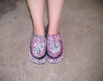Crochet House Slipper