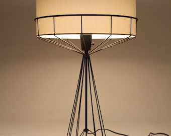 TONY PAUL table lamp from the WIRE series mid century vintage 1950 era