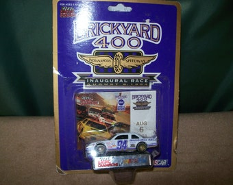 1994 Racing Champions~NASCAR Winston Cup  Brickyard 400 Inaugural Race~August 6, 1994~1/64 Scale Die Cast #94~Chevy Lumina~New in Package