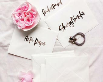 Envelope Addressing and Calligraphy for Weddings or Events