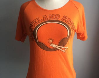Browns tee from the 1970s-1980s