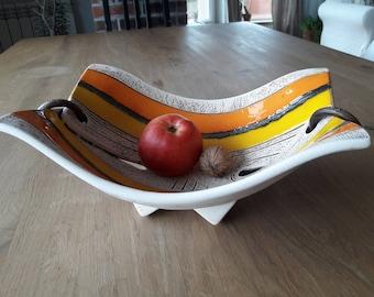 Ceramic Fruit Bowl,Unique Fruit Bowl, Handmade Ceramic Fruit Bowl, Pottery Fruit Bowl, Unique, Ceramics and Pottery, Art Bowl, Wedding Gift,