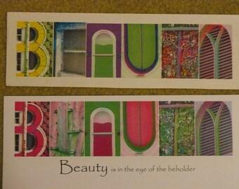 Beauty Photo Statement Framable Print