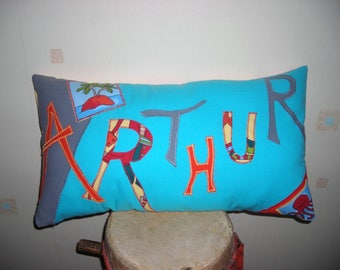 cushion - 5 to 6 letters - custom order