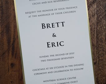 Classic Wedding Invitation, Classic Wedding Invitations, Classic Invitations, Classic Invitation, Elegant Wedding Invitations, Invitations