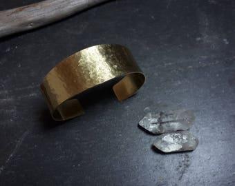 Brass Cuff Bracelet // Recycled Metal