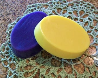 Free Shipping - Two (2) Four (4) OZ. Oval  Shea Butter or Clear Glycerin Soaps/U PICK SCENT