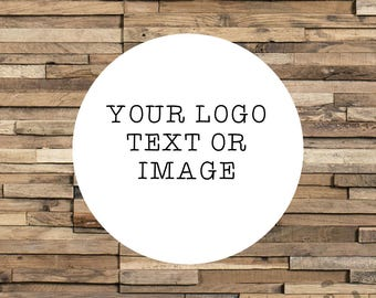 Custom Logo Stickers Various Sizes, Customisable Personal & Business Labels, Planner Stickers, Gift Wrapping, Wedding Stickers Envelope Seal