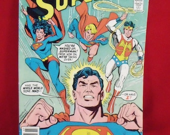 Vintage DC Comic Book  Superman   no 349