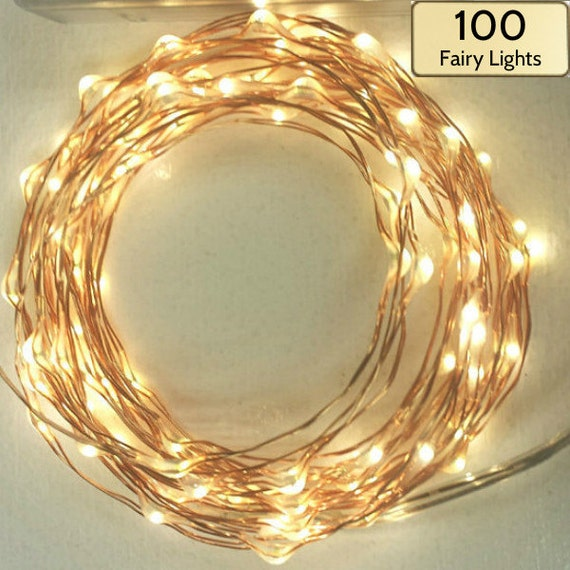 165 foot 5m 100 fairy lights string lights on a copper 165 foot 5m 100 fairy lights string lights on a copper wire strand choose battery operated solar or plug in with a timer aloadofball Image collections