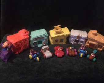 Full set of figurines Flintstones