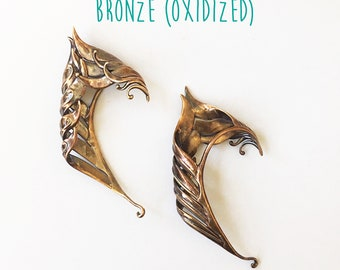 Pair of Elven Ear Cuffs by Miyo (bronze)