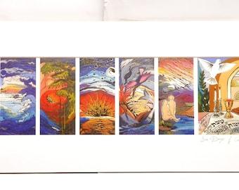 Les sept mers par Brahah Levy Art
