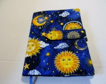 Celestial Fabric Covered Journal