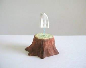 Tree House - Small Tree Ghost Sculpture