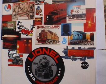 Mint Lionel Train Catalog 1975