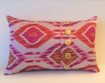5 Button Pillow Sewing Pattern PDF File