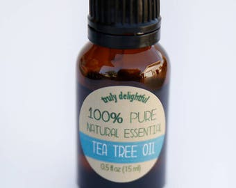 Tea Tree Essential Oil - 15ml bottle