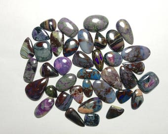 Rare Sugilite natural Sugilite mix lot 38 pieces  mix shape gemstone 875.50cts