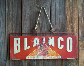 Advertising Sign, Signs, Metal Signs, Industrial Sign, French Signs, French Vintage, Metal Signage