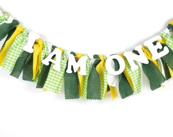 Tractor Birthday Party - Boy's Birthday - Garland - Bunting - First Birthday Party - Photoshoot Prop - Baylor University