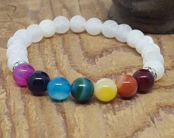 Mala Beads, Mala Bead Bracelet, Chakra Bracelet, Gemstone Bracelet, Healing Crystals, Meditation Beads, Yoga Bracelet