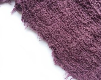 Natural Cheesecloth Gauze | Eggplant