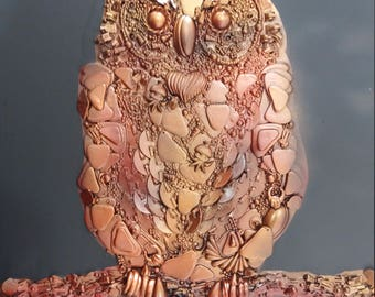 Steam Punk 3D Art OWL