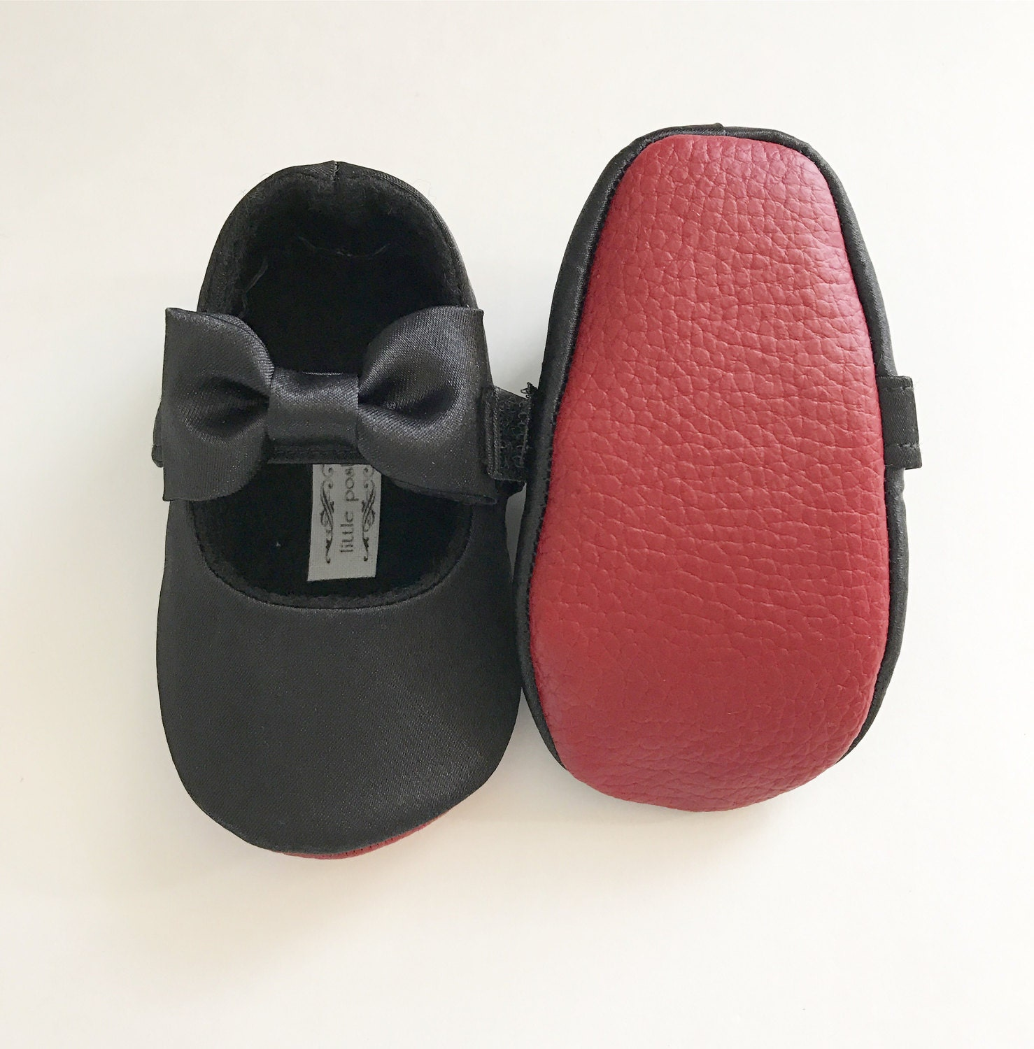 Red Bottom Baby Girl Shoes Toddler Girl Shoes Red Soft Soled