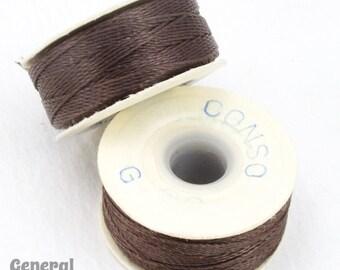 Brown Conso Nylon Size G Thread #CDD009