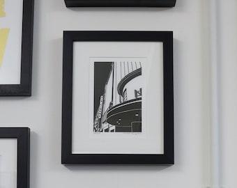 Rio Cinema, Dalston, London - Handprinted / Hand pulled Linocut