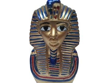 Egyptian King Tut Bust Pharaoh Figurine Statue