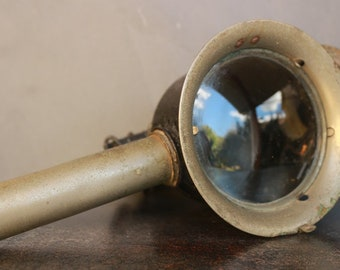 Old french lamp- Lantern- Lamp VITA*- Cab lamp/Carriage /Fiacre- Candle Lamp- Vintage- Collection