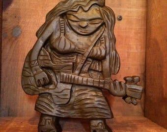 Guitar Girl - Dark Chocolate