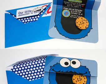 My little pony birthday card happy birthday pony my cookie monster cookie monster invites party cookie monster sesame street custom birthday bookmarktalkfo Choice Image