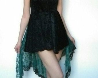 PITN Dress (Black & Green)