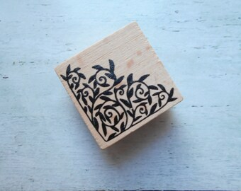 "Wooden rubber stamp ""angle to""-sold individually"
